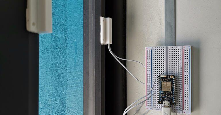 Domótica 1: Sensor de puertas